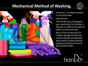 turmalina lucha contra detergentes