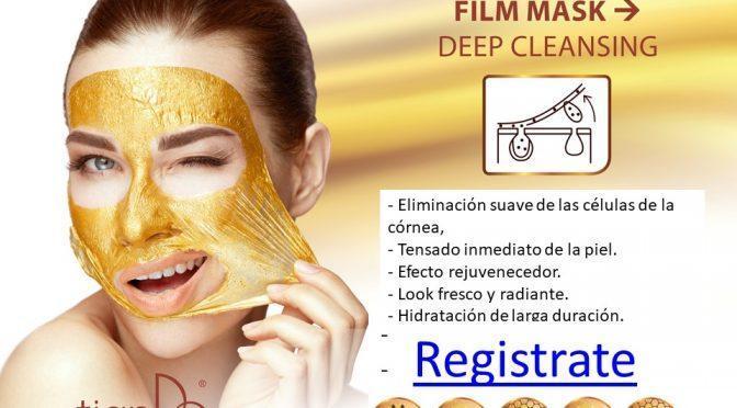 50116 Mascarilla Facial Limpiadora de Oro, TianDe 3