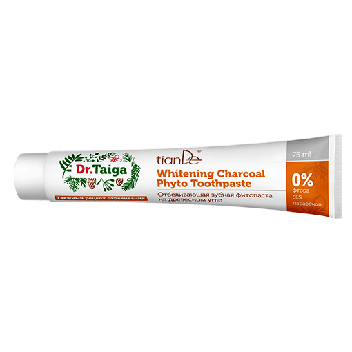 tianDe charcoal toothpaste